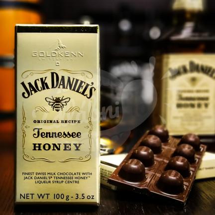 Luxusní čokoláda Goldkenn s náplní Jack Daniel´s Honey