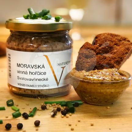 Moravská vinná hořčice
