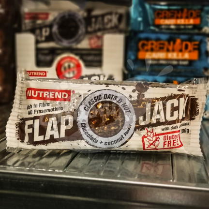 Flap Jack chocolate + coconut, Nutrend