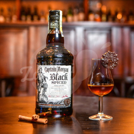 Captain Morgan Black Spiced 40%