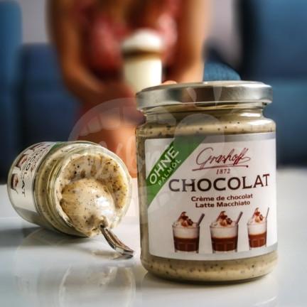 Bílý čokoládový krém Latte Macchiato