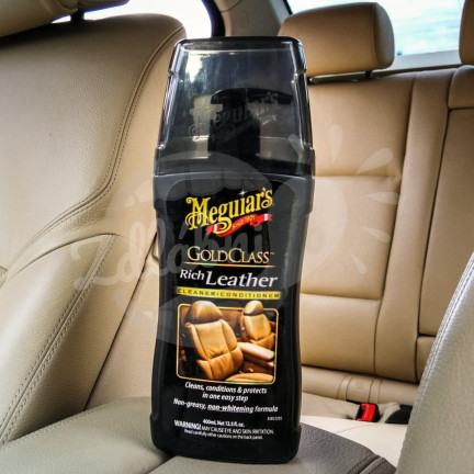 Meguiar´s Gold Class Rich Leather Cleaner & Conditioner na kůži