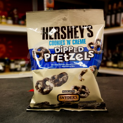 Hershey's Cookies and Creme Dipped Pretzels 120g