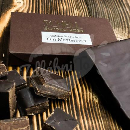 Schell plněná čokoláda Gin Masterscut 100g