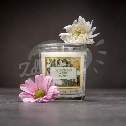 Vonná svíčka ve skle 170 g – Jasmine