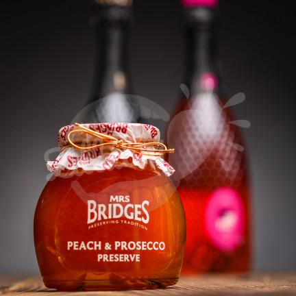 Mrs. Bridges Peach & Prosecco Preserve 340g