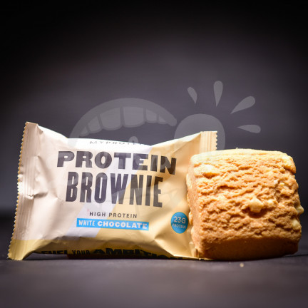 MyProtein Brownie - White Chocolate 23g
