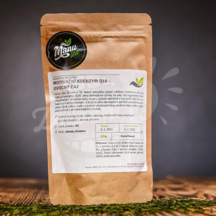 Motivační Koenzym Q10 - ovocný čaj  50g