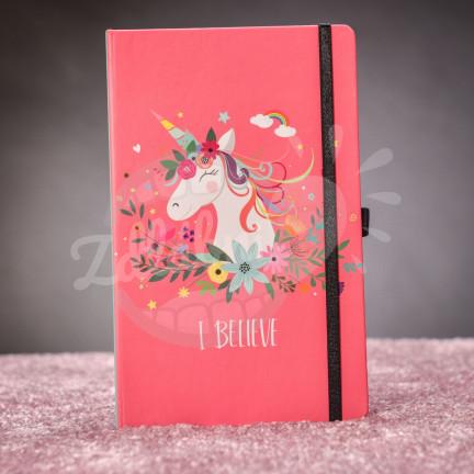 Zápisník s jednorožcem