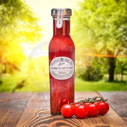 Jemný kečup na grilování W & S 260 ml