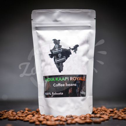 India Kappi Royale 100g - 100% Robusta