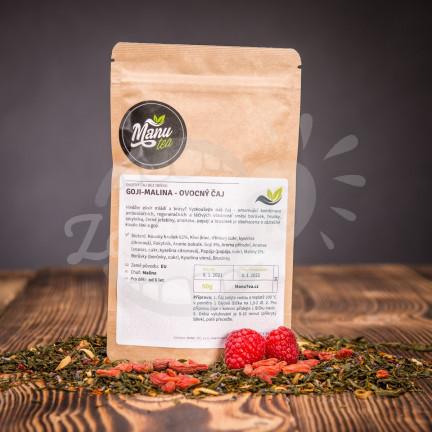 Goji - malina - ovocný čaj 50g