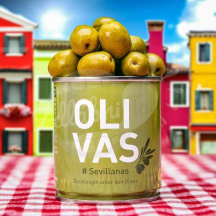Olivas Sevillanas - zelené olivy 80g