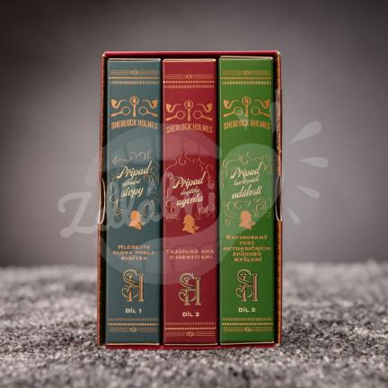 Sada tří logických karetních her Sherlock Holmes – Trojitá výzva