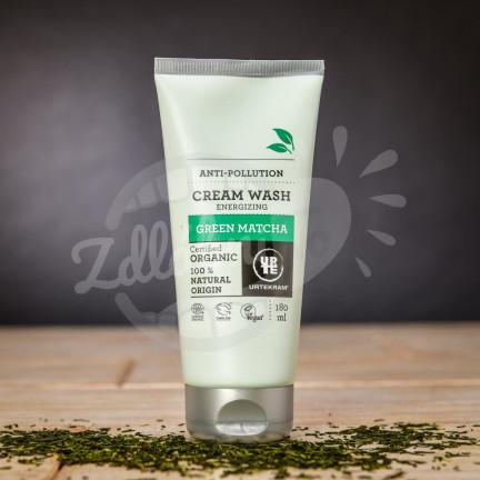 Ochranný BIO sprchový krém Urtekram s japonskou matchou 180 ml