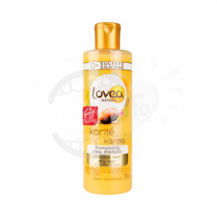 Lovea - kondicionér na suché vlasy s bambuckým máslem 250ml