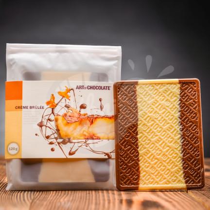Art of Chocolate Čokoládová tabule Crème Brûlée 120g