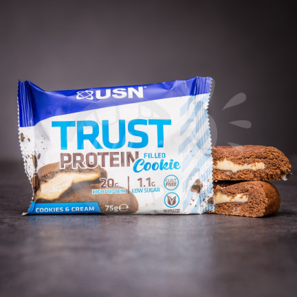 USN Trust Protein Filled Cookie – Cookies & Cream 75 g