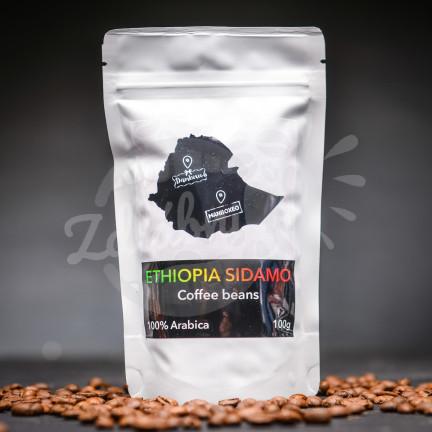 Ethiopia Sidamo 100g - 100% Arabica