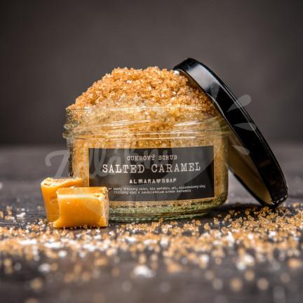 Cukrový peeling s vůní slaného karamelu 140 g