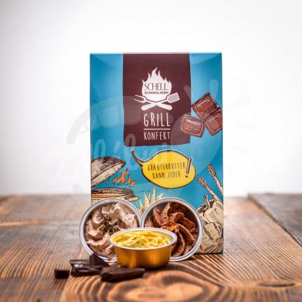 Grilovací konfekt s čokoládou 6 ks