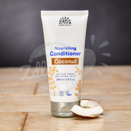 Hydratační BIO kokosový kondicionér na vlasy Urtekram 180 ml