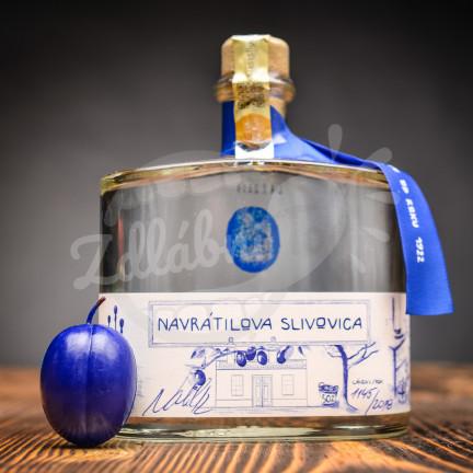 Navrátilova Slivovica 50% 0,5l