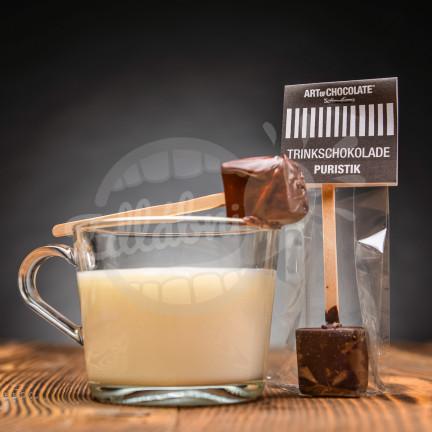 Art of Chocolate Trinkschokolade Puristik 30 g - čokoláda na špejli