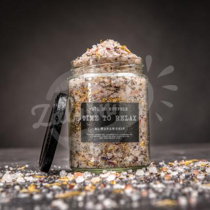 Relaxační koupelová sůl s minerály 450 g