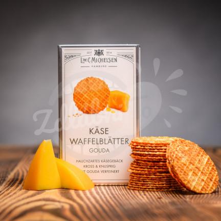 Michelsen Käse Waffelblätter Gouda 100g - sýrové vafle
