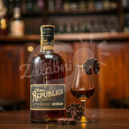 Rum Božkov Republica 38% 0,7 l