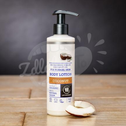 Zvláčňující BIO kokosové tělové mléko Urtekram 245 ml