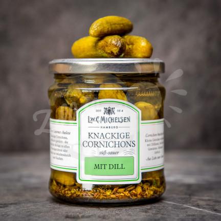 Michelsen Knackige Cornichons 330g - nakládané okurky