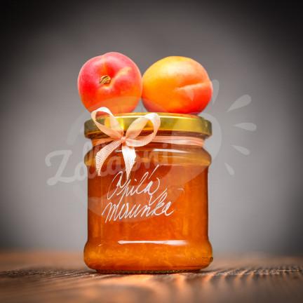 Opilá meruňka - meruňkový džem s meruňkovicí 205g