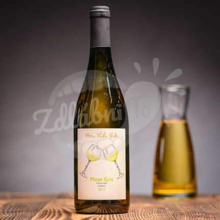 Pinot Gris 2020, Pozdní sběr, Gotberg 0,75l